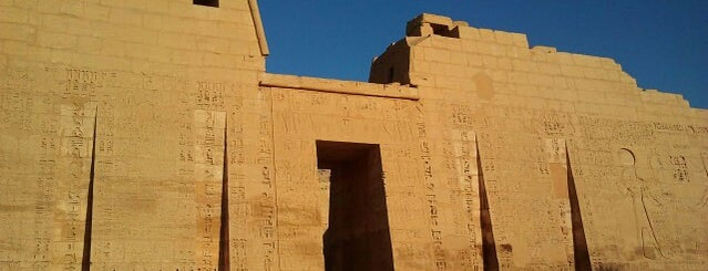 Medinet Habu (Temple of Ramses III) is one of Phat's Liked Places.