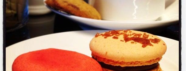 Cafe Macaron is one of Food: Makati.