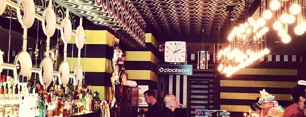 Clockwork is one of Lieux qui ont plu à Heather.