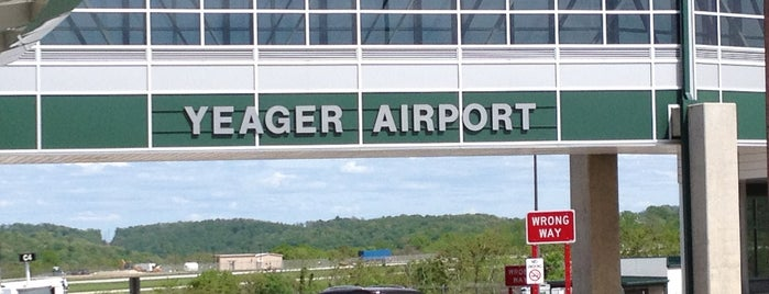 Yeager Airport (CRW) is one of Airports.