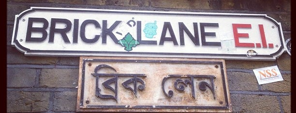 Brick Lane is one of My London tips!.