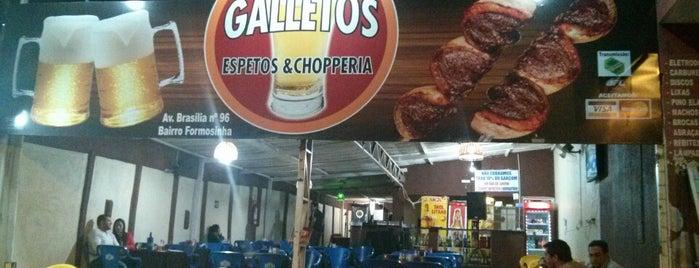Galletos Espetos e Chopperia is one of Barzinhos -Formosa.
