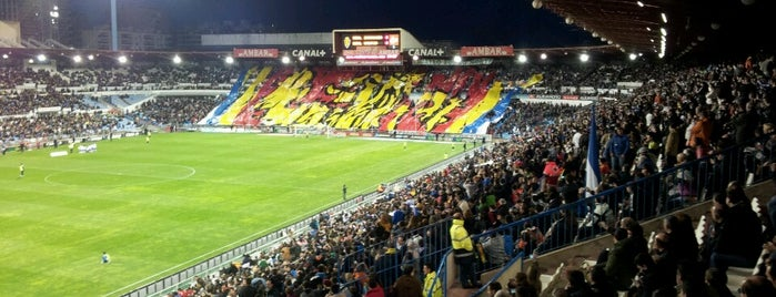 La Romareda is one of Stadiums.