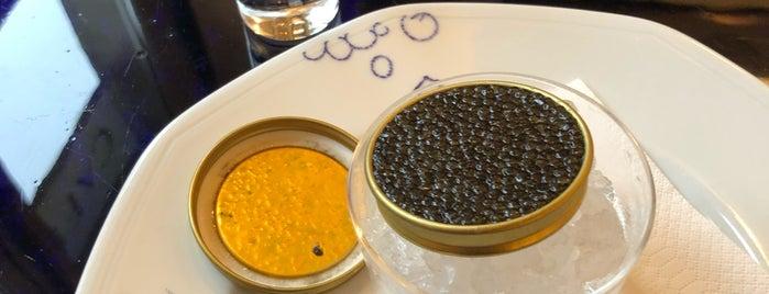 Café Prunier is one of Paris.