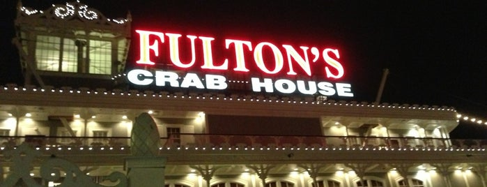Fulton's Crab House is one of Disney Springs.