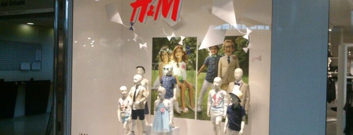 H&M is one of Compras, Ropa, etc..