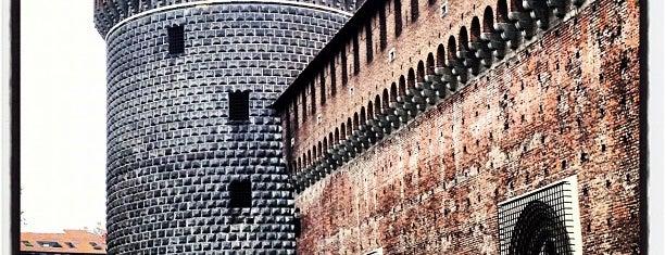 Castello Sforzesco is one of Where to go in Italy.