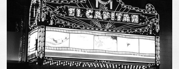 El Capitan Theatre is one of LAX.