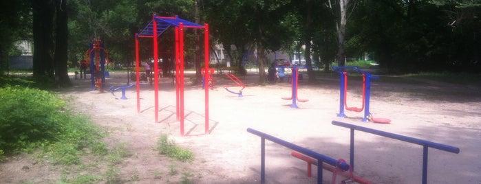 Спортивная  Площадка В Парке Энергетиков is one of Lu: сохраненные места.