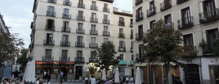 Plaza de Chueca is one of Madrid.
