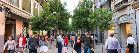 Calle de Fuencarral is one of Madrid.