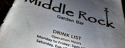 Middle Rock Garden Bar is one of Dog Friendly.