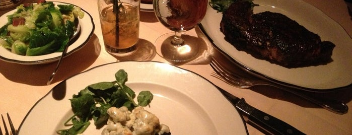 Butcher and Singer is one of America's 40 Best Steakhouses.