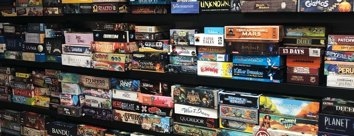 The Basement Board Game Cafe is one of Philly.
