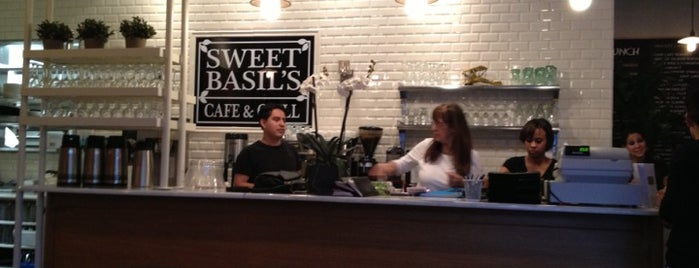 Sweet Basil's Cafe is one of Places to Go.