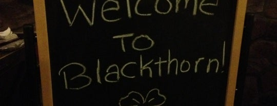 Blackthorn Irish Pub & Restaurant is one of 973 Bars - Bottoms Up.