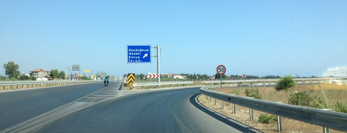 Konya - Manavgat Yolu is one of The Seven Ten Split Bagde.