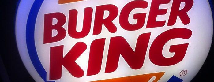 Burger King is one of mekan.