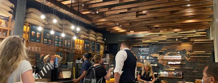 Starbucks is one of New York City.