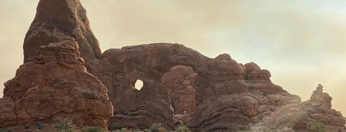 Turret Arch is one of Arches Nat'l.