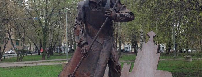 Памятник Ростокинскому Дворнику is one of Ksuさんの保存済みスポット.