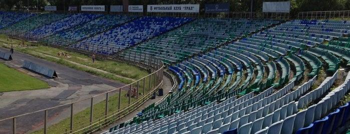 СКБ-Банк Арена is one of Posti che sono piaciuti a Stanislav.