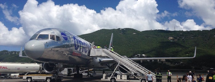 Cyril E. King Airport (STT) is one of St.Thomas/St.John & Virgin Gorda.