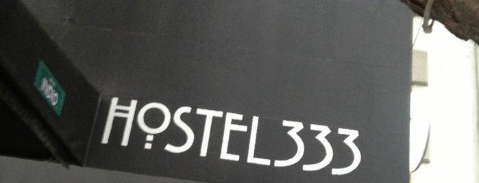 Hostel 333 is one of hostal.