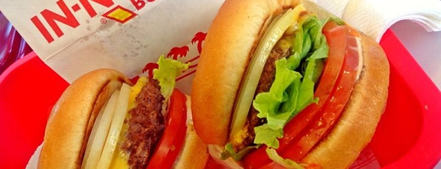 In-N-Out Burger is one of Posti salvati di Ike.