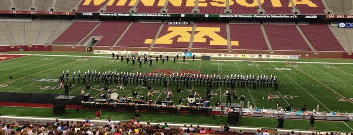 TCF Bank Stadium is one of Dezzys Stops on DCI Tour.