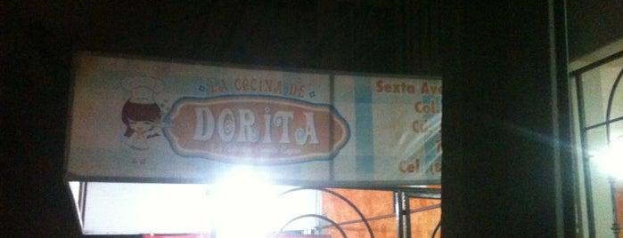 La Cocina De Dorita is one of สถานที่ที่บันทึกไว้ของ Flor.