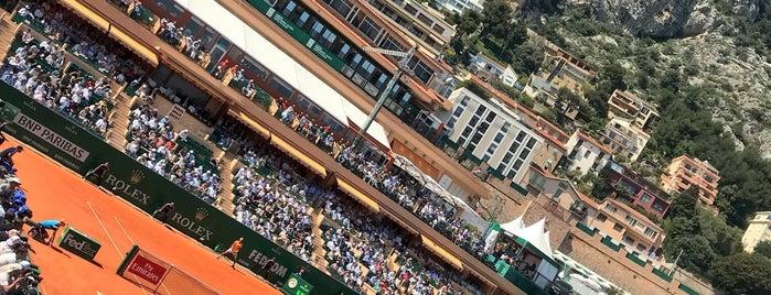 Monte Carlo Rolex Masters is one of Tempat yang Disukai Tanya.