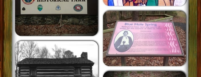 Red Clay State Historic Park is one of Native American Cultures, Lands, & History.