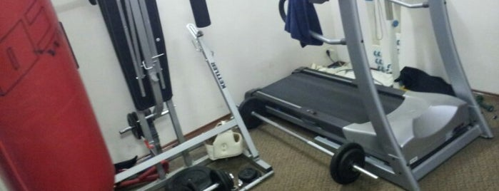 home gym is one of Posti che sono piaciuti a Ramil Damirovich.