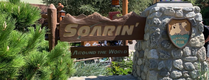 Soarin' Around the World is one of Places I Need To Visit Or Go Back To.