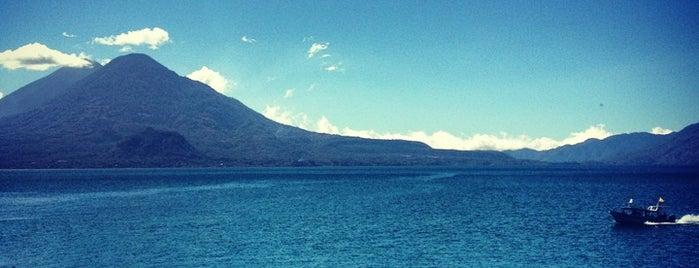 Lago Atitlán is one of Vanessa : понравившиеся места.