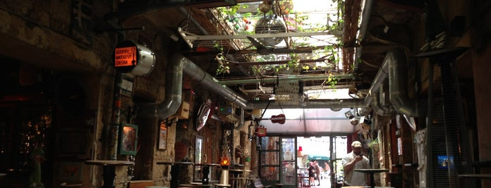 Szimpla Kert is one of Budapest.