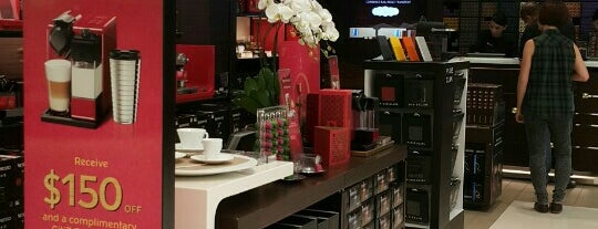 Nespresso Boutique is one of Singapore coffee & food.