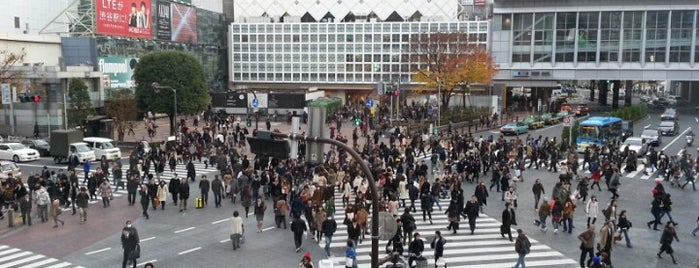 Shibuya Crossing is one of Tokyo.