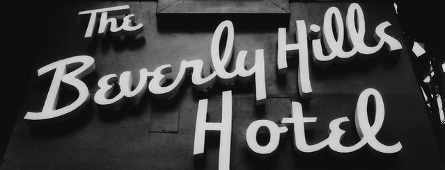 Beverly Hills Hotel is one of LA.