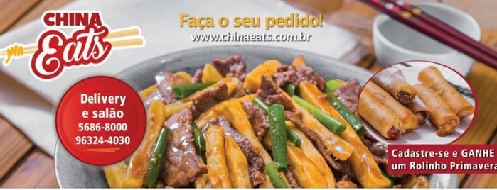 China Eats is one of Locais curtidos por Cledson #timbetalab SDV.