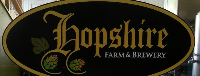 Hopshire Farm and Brewery is one of Drink beer here.