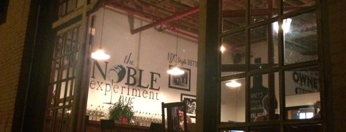 The Noble Experiment is one of สถานที่ที่ Max ถูกใจ.