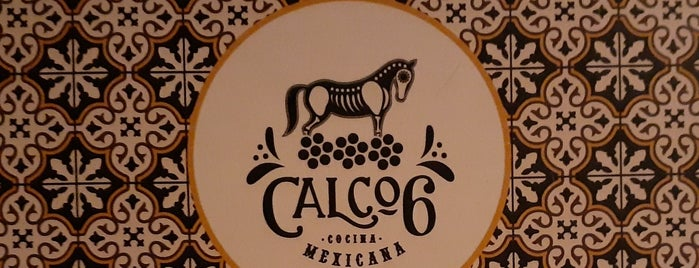 Calco 6 Cocina Mexicana is one of Drinks,Snacks & Tea  🍷.