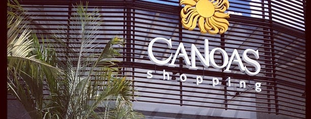 Canoas Shopping is one of Locais curtidos por Alisson.