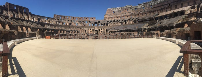 Colosseo is one of Go Ahead, Be A Tourist.