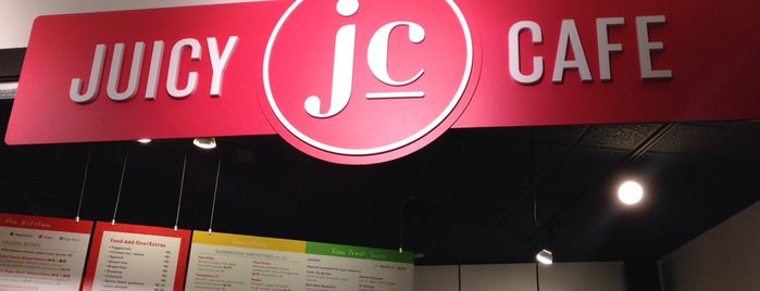 Juicy Cafe is one of Grace's Liked Places.