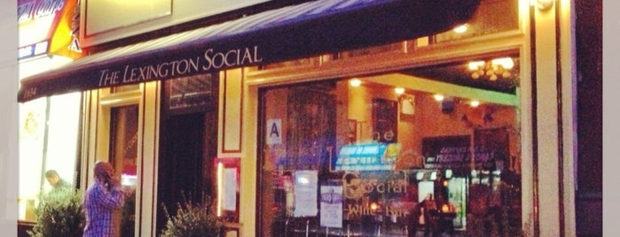 The Lexington Social is one of ECava'nın Kaydettiği Mekanlar.