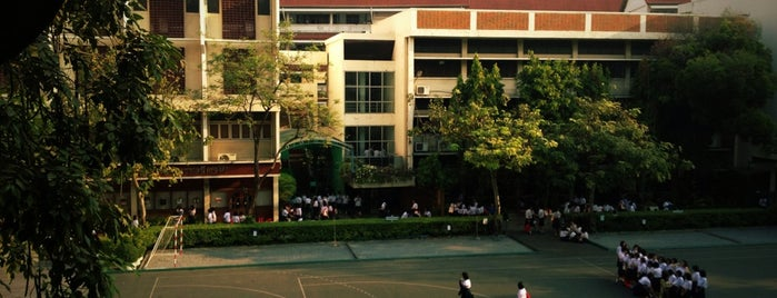 Satriwithaya School is one of The : понравившиеся места.