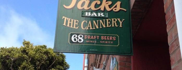 Jacks Cannery Bar is one of To Fly For.